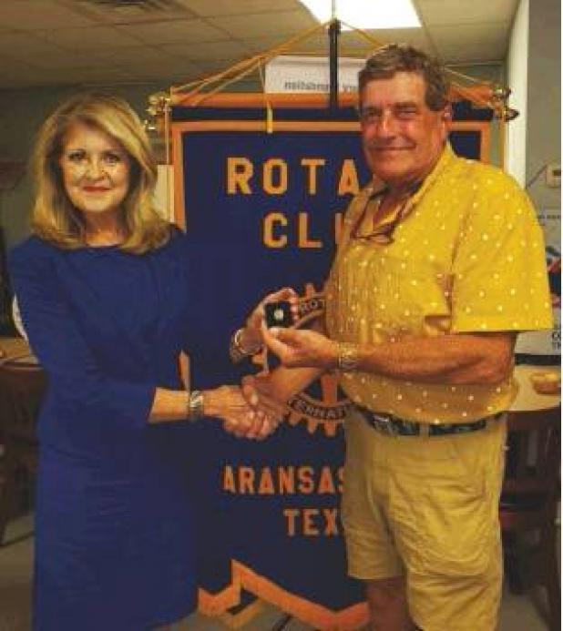 Rotary Club Paul Harris Fellow + 1 Award
