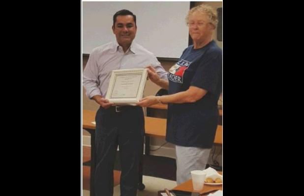 San Pat RTA Presents Award