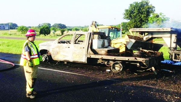 No deaths in I-45 wreck   The Fairfield Recorder