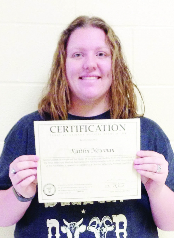 Student Now Vet Assistant The Fairfield Recorder