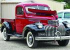 This 1946 Chevy Truck looks as if it just rolled off the assembly line.